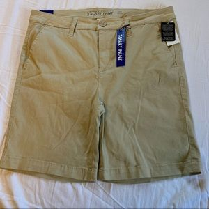 Celebrity Pink Smart Pant Khaki Bermuda Shorts